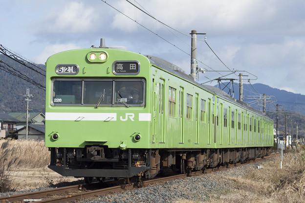 103系桜井線代走