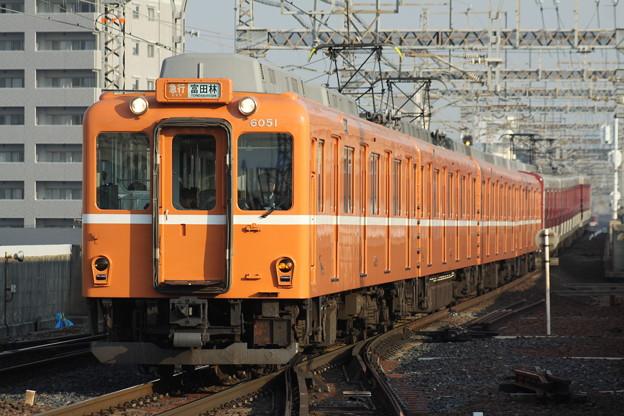 近鉄6020系(ラビットカー)急行富田林