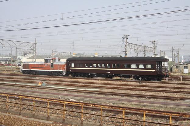 マイテ49(鉄道博物館展示送り込み回送)