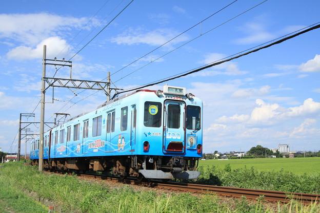 養老鉄道600系(大垣市制100周年記念ラッピング)