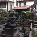 城・滝・鯉