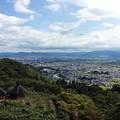 写真: 松本 アルプス公園からの眺め