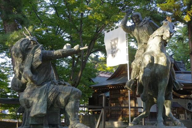 写真: 川中島の戦い