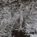 写真: 氷のアート