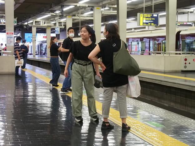 阪急電車・梅田駅