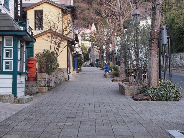 神戸・北野坂辺り