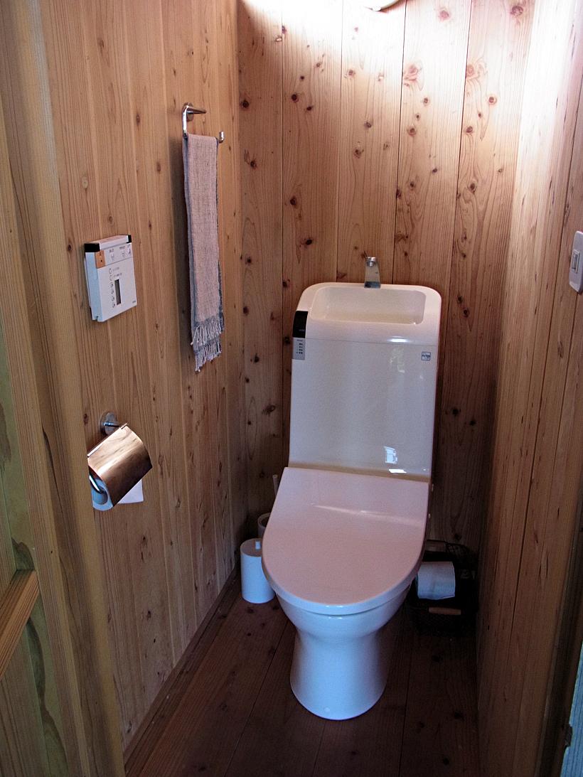 茶室のトイレ
