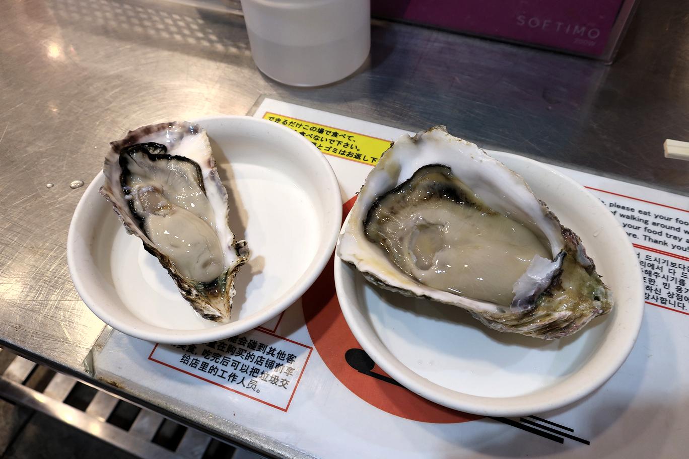 近江町市場,牡蠣