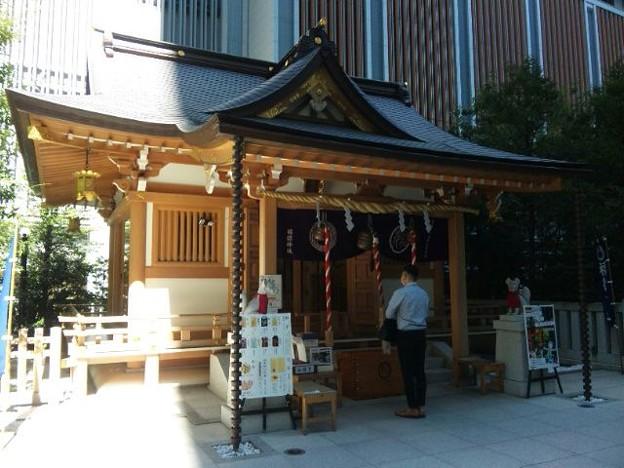 福徳神社。
