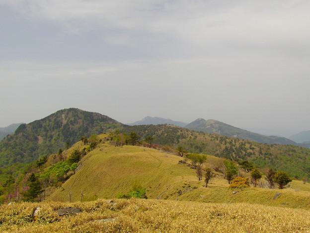 丸笹山・搭の丸・三嶺