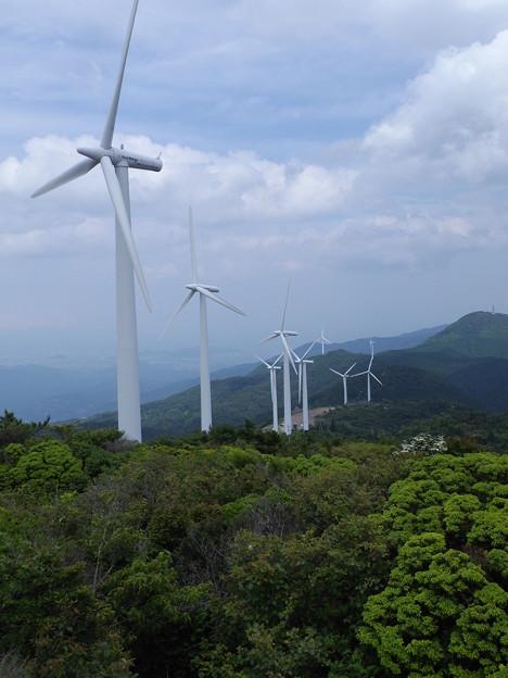 大川原高原 風車