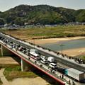 Photos: 2018_0331_101638 木津川を渡る木津川御幸橋