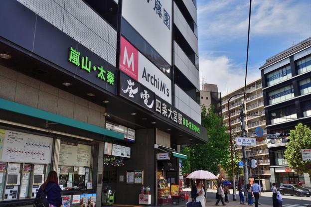 2018_0813_132616 嵐電四条大宮駅
