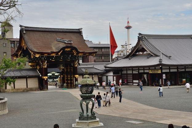 2018_0923_152859 お西さんからの京都タワー