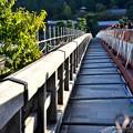 Photos: 2018_1021_152218 復旧進む渡月橋