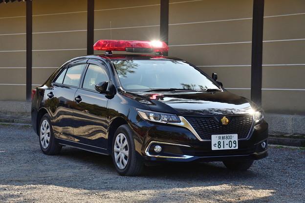 2018_1125_110838 皇宮警察のパトカー