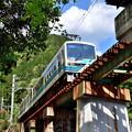 Photos: 2019_0502_142250 鞍馬川を渡る橋