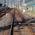 Photos: 2009_1206_101456 八幡市駅下手の渡り線