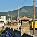 Photos: 2019_0915_163646 加茂大橋から如意ヶ嶽(大文字山)