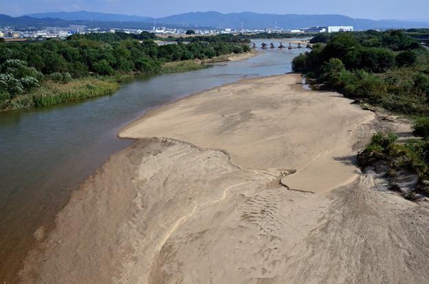 2019_1027_135909新木津川橋から眺めた流れ橋