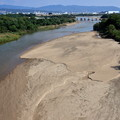 Photos: 2019_1027_135909新木津川橋から眺めた流れ橋