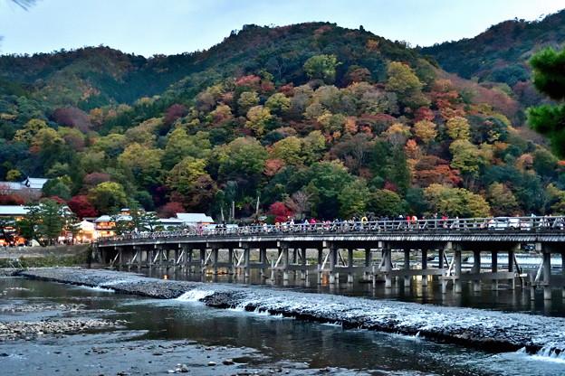 2019_1122_164322 渡月橋と嵐山