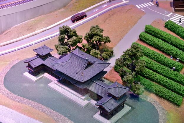 2020_0209_165802 平等院鳳凰堂と茶畑