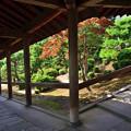2020_0809_153244 通天橋から開山堂への回廊