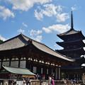 2020_0921_124434 東金堂と五重塔