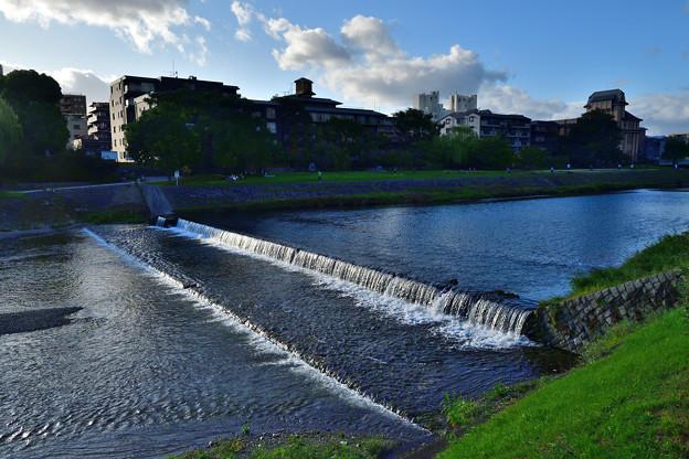 2020_0927_162237 京 鴨川の流れ