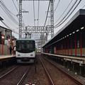 Photos: 2020_1213_142529 上横繩踏切から見た伏見稲荷駅