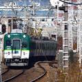 Photos: 2020_1206_133150 太閤堤に沿って走る電車