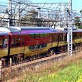 Photos: 2020_1206_133539 太閤堤に沿って走る電車