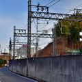 2021_0111_134927 蔵谷踏切から京都側を見る。