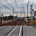 Photos: 2021_0111_140950 三和踏切から大阪側を見る。