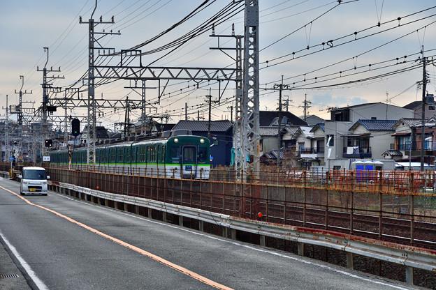 2021_0111_141346 府道八尾枚方線と並行する。