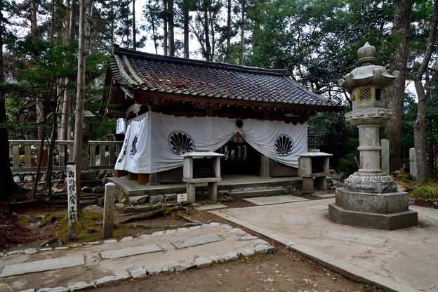2021_0207_142034 奥にある魔王殿の拝殿
