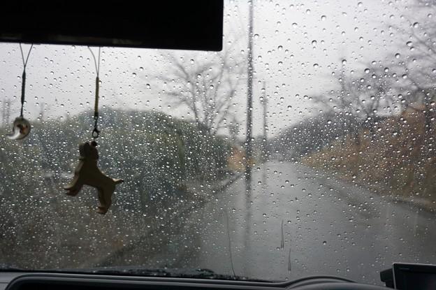 大雨警報中