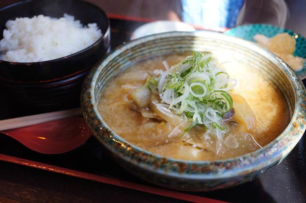 2018.02.07. Sake-lees soup