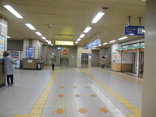 住道コンコース