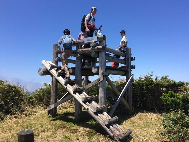三ノ丸の展望台
