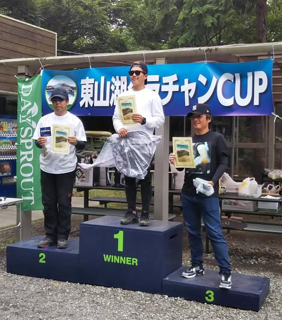 2018 第一回 東山湖グラチャンカップ第三戦 表彰台