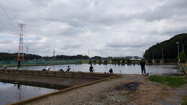 2018 オープン三日目の座間養魚場へ^^