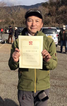 第18回トラウトキング選手権 トライアル東山湖戦 OKBさんおめでとう!^^