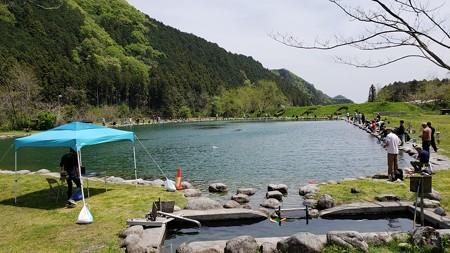 令和最初の管釣りは大芦川で^^