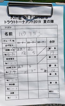 2019' キングフィッシャー夏の陣第参戦