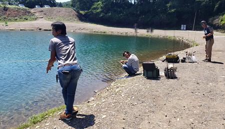 暑い6月の加賀フィッシングエリア