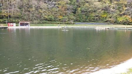 とうとう平谷湖へ