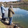 Photos: 東山湖でティモンカップの練習