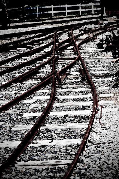 錆びた線路
